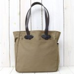 FILSON『TOTE BAG WITHOUT ZIPPER』(BROWN)