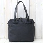 FILSON『TOTE BAG WITH ZIPPER』(CHARCOAL)