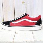 VANS『OLD SKOOL 36 DX』((ANAHEIM FACTORY)OG BLACK/RED)