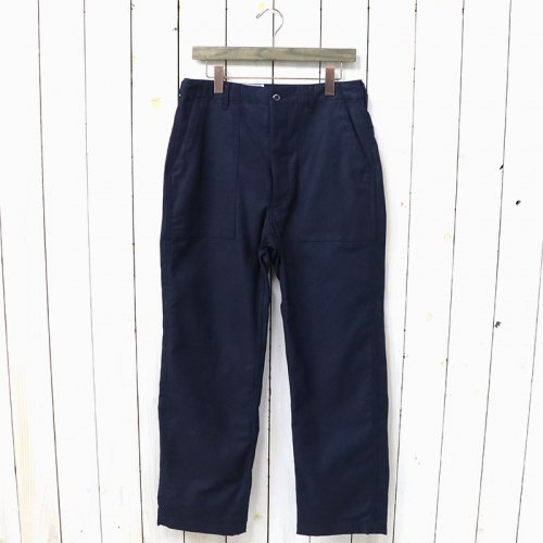 ENGINEERED GARMENTS WORKADAY『Fatigue Pant-Cotton Reversed Sateen』(Dk.Navy)