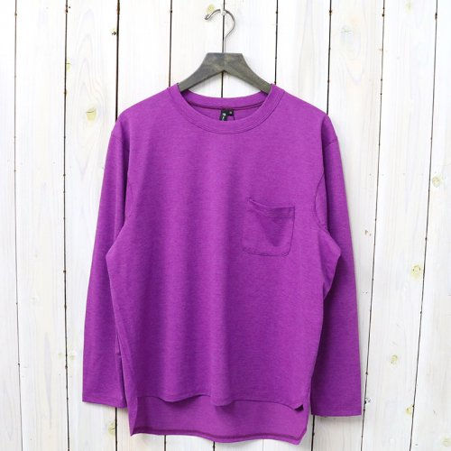 【SALE特価30%off】Tilak-Poutnik『CARAT tee L/S』(Purple)