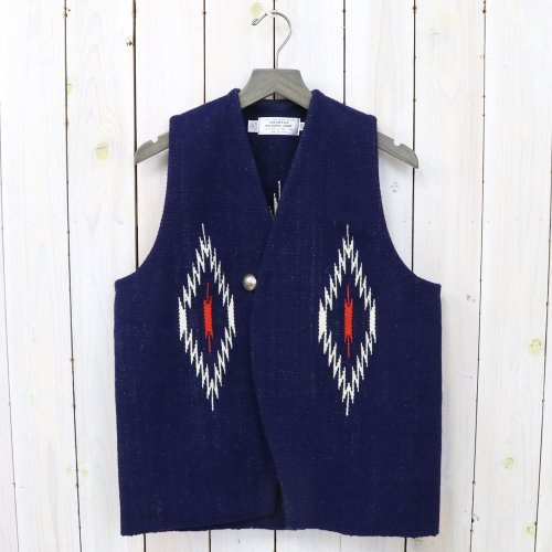 TRUJILLO'S『Chimayo Vest』(Navy)