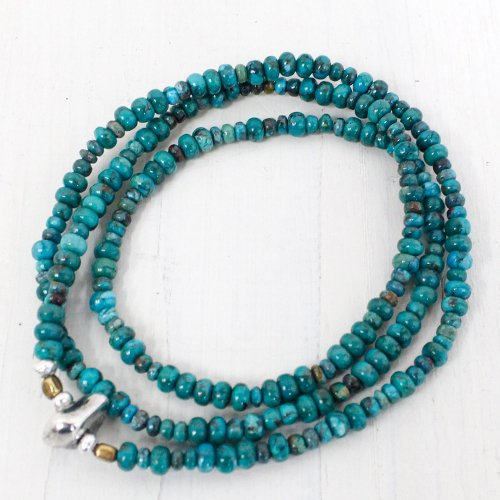 SunKu『Turquoise Beads Necklace & Bracelet-SK008』
