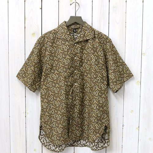 Kaptain Sunshine『Italian Collar Summer Shirt』(Dark Olive)