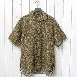 Kaptain Sunshine『Italian Collar Summer Shirt』(Dark Olive)