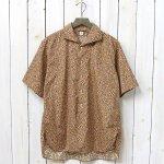 Kaptain Sunshine『Italian Collar Summer Shirt』(Sand Beige)