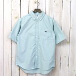 THE NORTH FACE PURPLE LABEL『Cotton Polyester OX B.D. Big H/S Shirt』(Green)