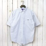 THE NORTH FACE PURPLE LABEL『Stripe OX B.D. Big H/S Shirt』(Gray)