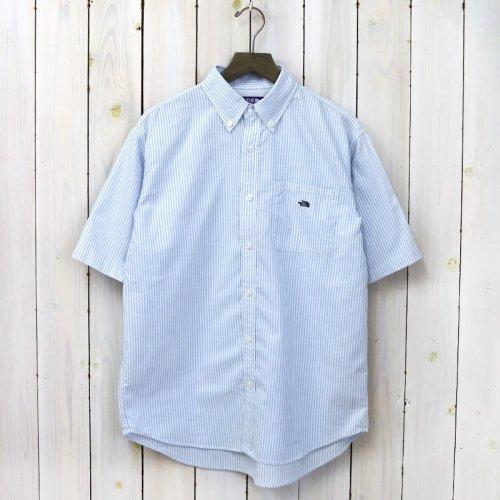 『Stripe OX B.D. Big H/S Shirt』(Sax)