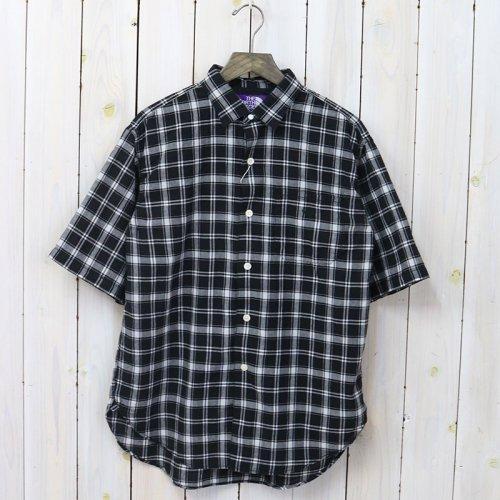 THE NORTH FACE PURPLE LABEL『Madras Big H/S Shirt』(Black)