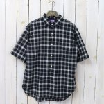 THE NORTH FACE PURPLE LABEL『Madras Big H/S Shirt』(Black)