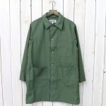 ENGINEERED GARMENTS WORKADAY『Shop Coat-Cotton Reversed Sateen』(Olive)