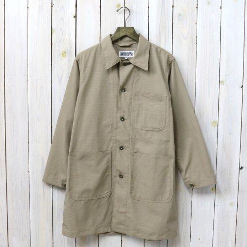 『Shop Coat-Cotton Ripstop』(Khaki)