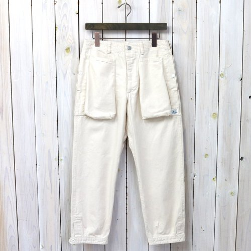 SASSAFRAS『DIGS CREW PANTS 4/5(DUCK)』(NATURAL)