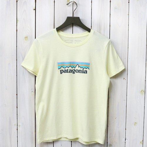 patagonia『W's Pastel P-6 Logo Organic Crew T-Shirt』(Resin Yellow)