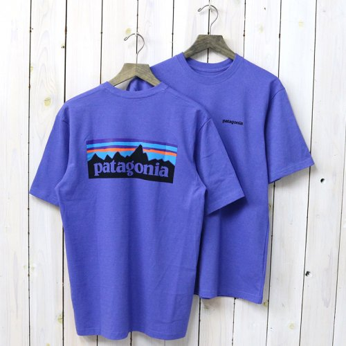 patagonia『M's P-6 Logo Responsibili Tee』(Violet Blue)