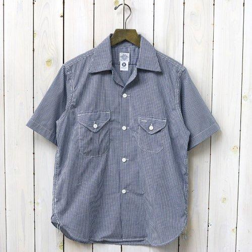 POST O'ALLS『E-Z Cruz Shirt S/S』(navy)