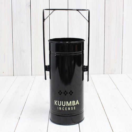 KUUMBA『INCENSE BURNER-Regular』(BLACK)