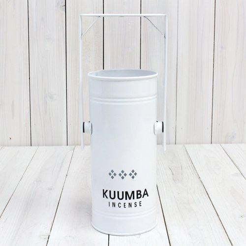 KUUMBA『INCENSE BURNER-Regular』(WHITE)