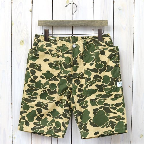 『FALL LEAF SPRAYER PANTS 1/2(WEEDS POPLIN)』(D.H.CAMO)