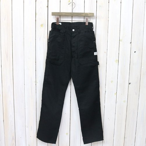 SASSAFRAS『FALL LEAF GARDENER PANTS(DUCK)』(BLACK)