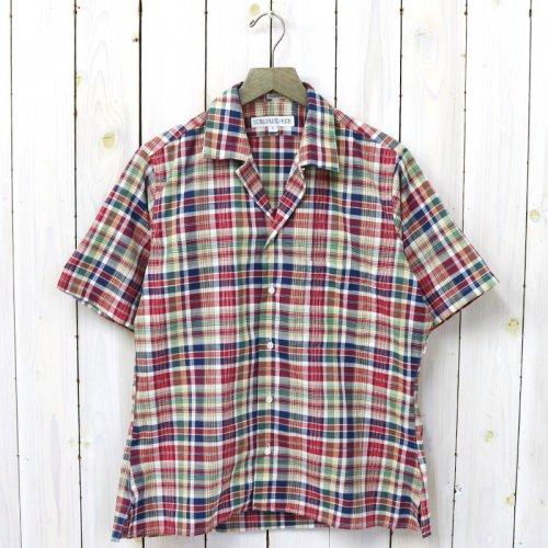 INDIVIDUALIZED SHIRTS『CHECK(CAMP COLLAR S/S)』(MULTI-B)