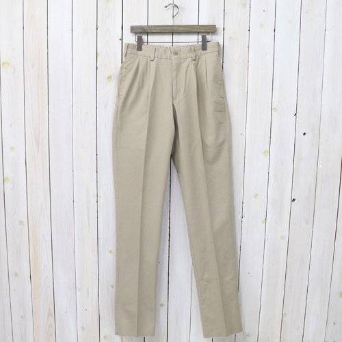 BILLS KHAKIS『CLASSIC FIT(M2) ORIGINAL TWILL-PLEATS』(KHAKI)