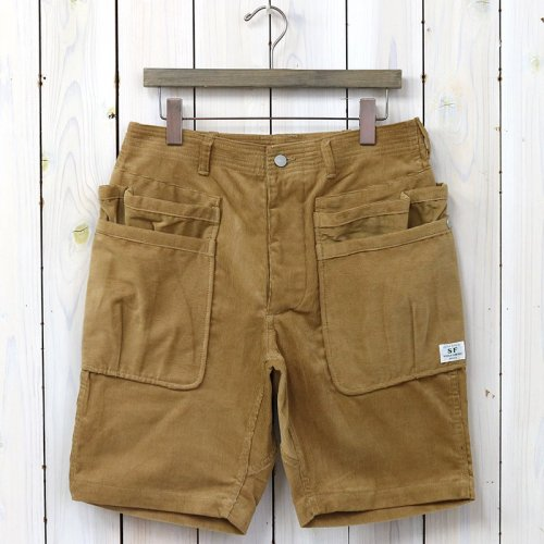 『WHOLE HOLE PANTS 1/2(SUMMER CORDUROY)』(BEIGE)