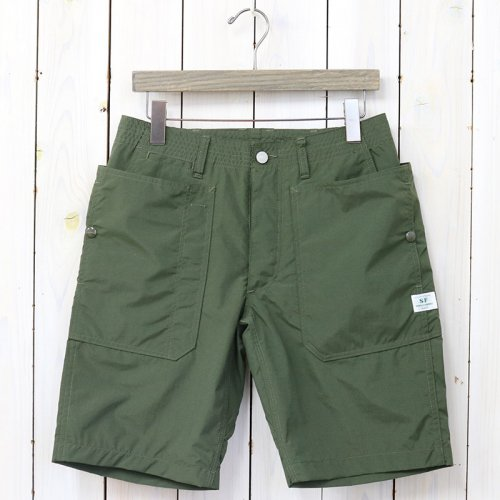 『FALL LEAF SPRAYER PANTS 1/2(NYLON)』(OLIVE)
