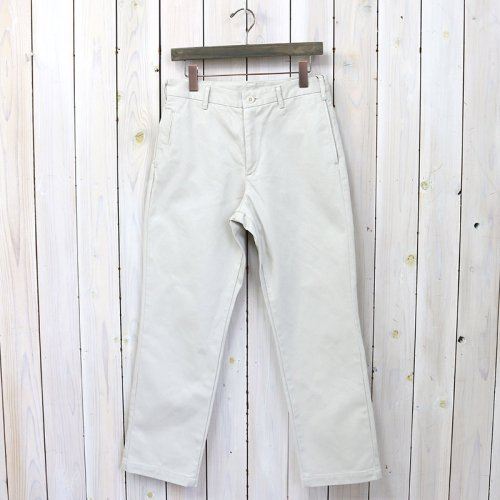 『FRENCH CAFE PANTS』(OFF WHITE)