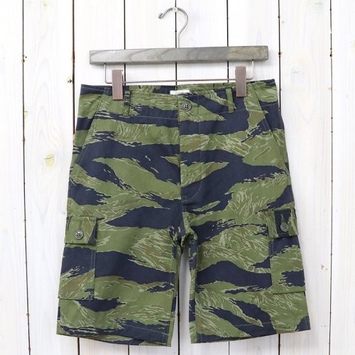 The REAL McCOY'S『TIGER CAMOUFLAGE SHORTS/PURPLE FADE』