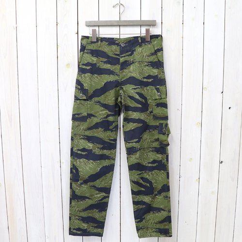 『TIGER CAMOUFLAGE TROUSERS/PURPLE FADE』