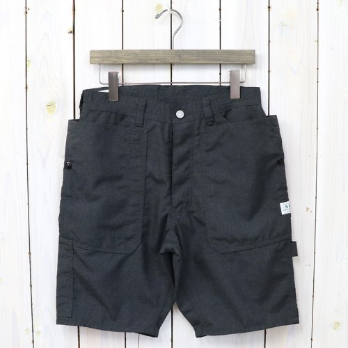 『FALL LEAF GARDENER PANTS 1/2(T/R PLANE WEAVE)』(CHARCOAL)