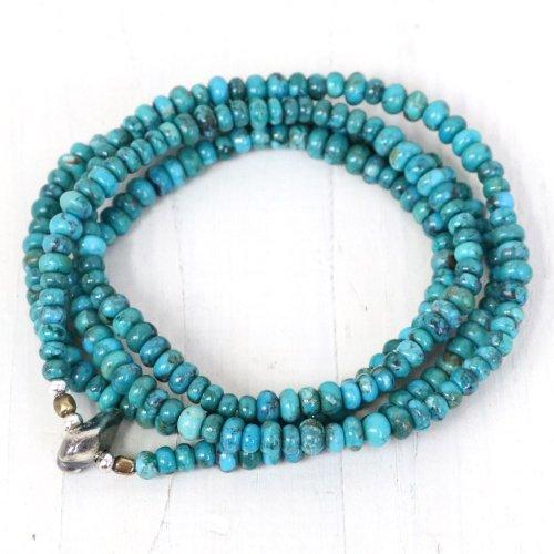SunKu『Turquoise Beads Necklace & Bracelet-SK124』
