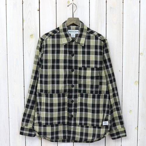 『DIGS CREW HALF(C/L AFRICAN MADRAS CHECK)』(CHECK2)
