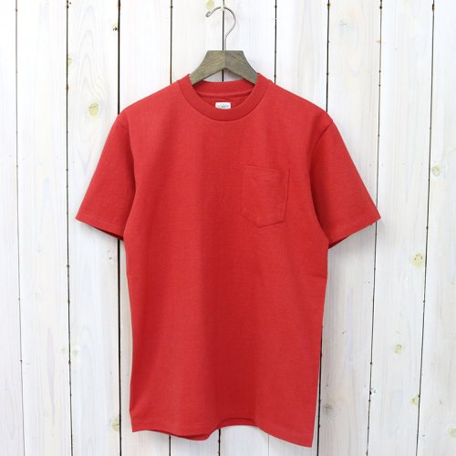 『POCKET TEE』(Red)