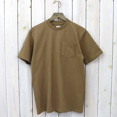 『POCKET TEE』(Brown)