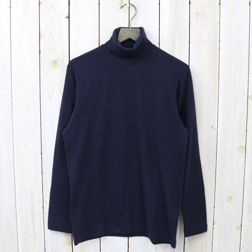 『TURTLE NECK TEE L/S』(Navy)