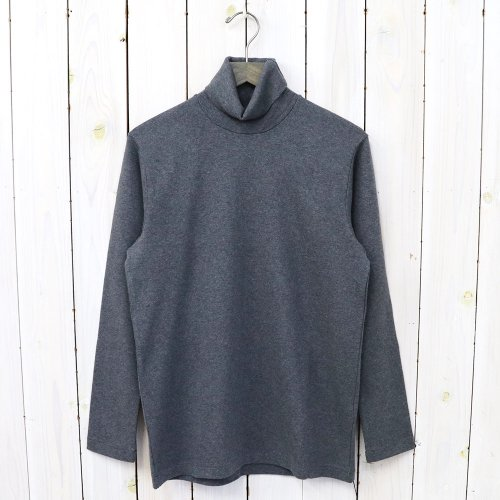 ANATOMICA『TURTLE NECK TEE L/S』(Charcoal)