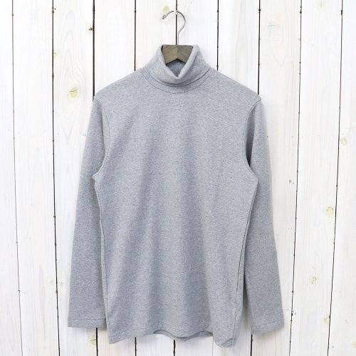 ANATOMICA『TURTLE NECK TEE L/S』(Gray)