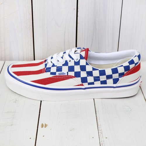VANS『ERA 95 DX』((ANAHEIM FACTORY)OG RED STRIPE/OG BLUE CHECK)