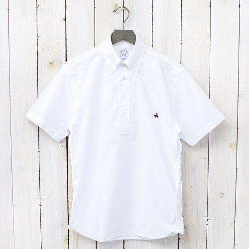 Brooks Brothers『スーピマコットン GF オックスフォード ショートスリーブ プルオーバーシャツ-Regent Fit』(Solid White)