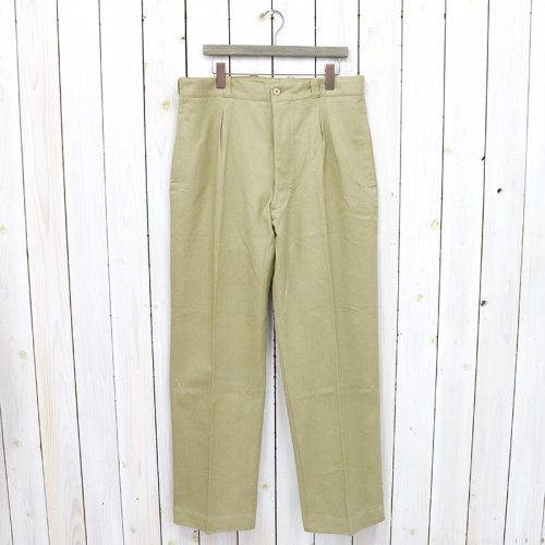 DEAD STOCK『1950 FRENCH ARMY CHINO PANTS』