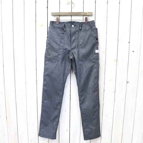 『FALL LEAF SPRAYER PANTS(T/C AMERICAN OXFORD)』(HEATHER BLACK)