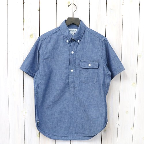 『GREEN THUMB SHELL SHIRT 1/2(5oz CHAMBRAY)』(BLUE)