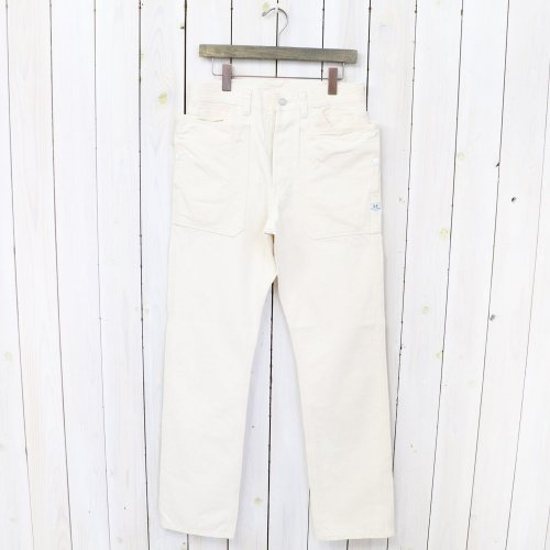 SASSAFRAS『FALL LEAF PANTS(HERRINGBONE)』(NATURAL)