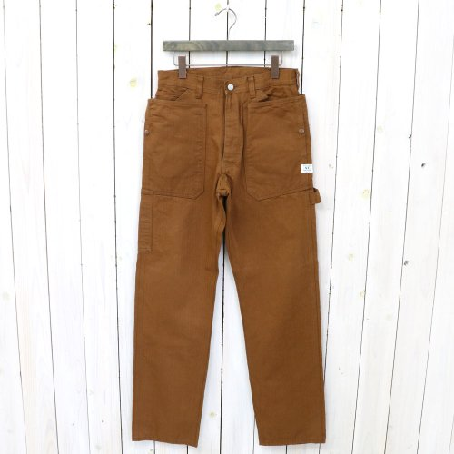 『FALL LEAF GARDENER PANTS(HERRINGBONE)』(BROWN)