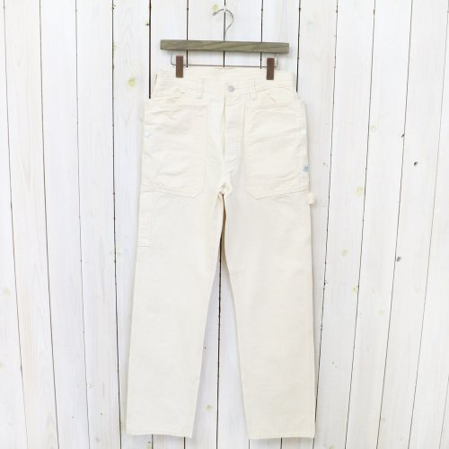 SASSAFRAS『FALL LEAF GARDENER PANTS(HERRINGBONE)』(NATURAL)