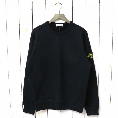 【SALE特価40%off】STONE ISLAND『CREW NECK SWEAT』(BLACK)