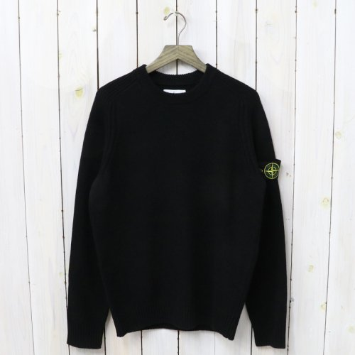 STONE ISLAND『CREW NECK KNIT』(BLACK)
